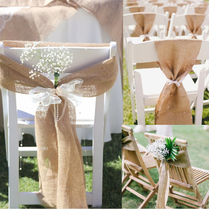 Incredible Us 15 84 45 Off Useful Burlap Chair Bow Sashes Burlap Ribbon For Banquet Wedding Party Baby Shower Craft Chair Cover Decor Chair Back Decoration In Pabps2019 Chair Design Images Pabps2019Com