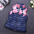 Autumn Winter Coat Women Ladies Gilet Colete Feminino Casual Waistcoat Female Sleeveless Cotton Vest Jacket Plus Size F16-45B