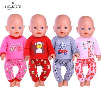 13 estilos Pijama e camisola e roupa de dormir Ajustam 18 polegadas Americana e 43 CM Roupas de boneca Acessórios, Brinquedos para meninas, Geração, Aniversário 1