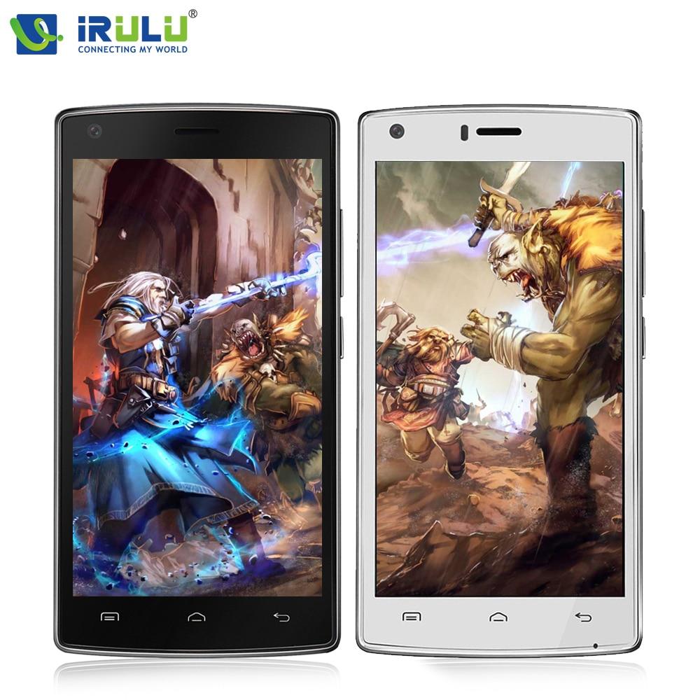 "IRulu Doogee X5 макс 3 г 5.0 ""HD смартфон 4000 мАч OTG отпечатков пальцев Android 6.0 MTK6737 телефона 1 ГБ + 8 ГБ 8MP мобильного телефона"