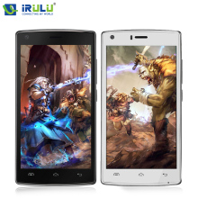 "Irulu doogee x5 max 3g 5.0 ""hd smartphone 4000 mah otg teléfono móvil de huellas dactilares android 6.0 mtk6737 1 gb + 8 gb de 8mp teléfono móvil"