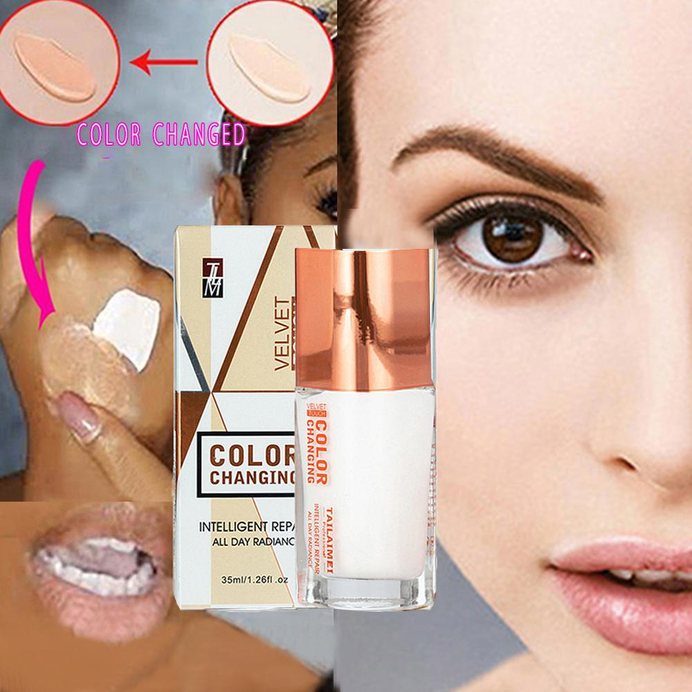 BellyLady Fashion Temperature Color Changing Foundation Liquid Base Makeup Concealer image