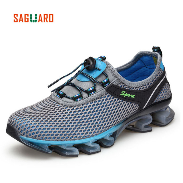 SAGUARO 2017 Summer Outdoor Anti-slip Hiking Shoes Men Women Breathable Mesh Trekking Shoes Sports Sneakers Walking Aqua Shoes