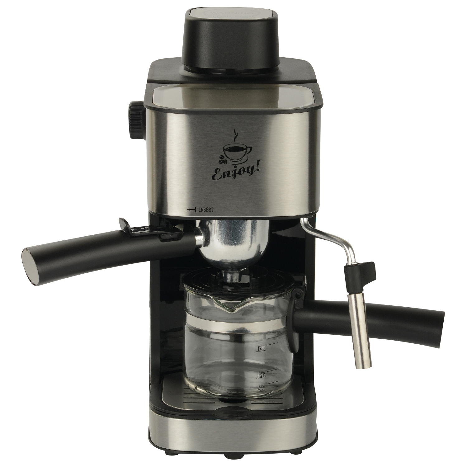 Coffee maker FIRST FA-5475-2 Stell цена и фото