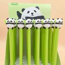 36 Pcs/lot Lovely Panda Gel Pen Signature Escolar Papelaria School Office Supply Promotional Gift
