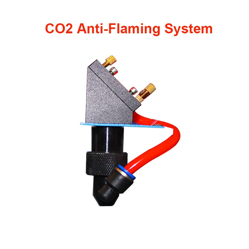 ly CO2 laser antiflaming system kit anti flaming   with air pump  compressor for cnc  cutting engraving machine-in Woodworking Machinery Parts from Tools    1