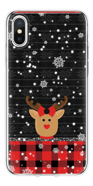 Merry Christmas Silicone Soft TPU for iPhone all Range