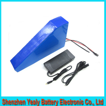 Deep cycle 51.8v 35ah Lithium Battery Pack Powerful 52v 1500w Triangle eBike Battery with triangle bag For Sanyo GA3500 cell