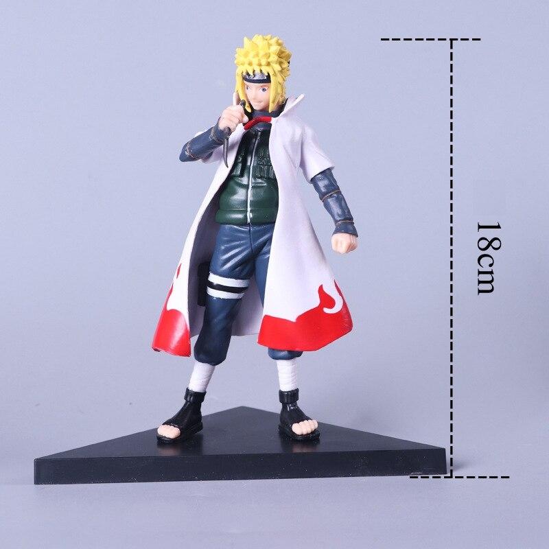 18 cm Anime Naruto Shippuden caliente cuarto Hokage Yondaime Namikaze  Minato pvc figura de acción ...