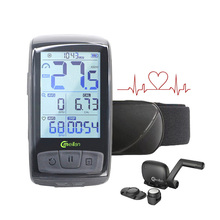 Tachometer Wireless Bicycle Computer Speed Cadence Bike Sensor Meilan M4 Sports Bluetooth 4.0 ANT+ Heart Rate Monitor