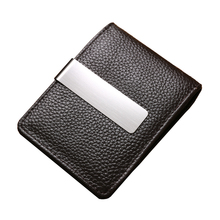 New fashion 100% genuine cow leather money clips slim design famous brand men wallets money clips leather men wallets ZC6016