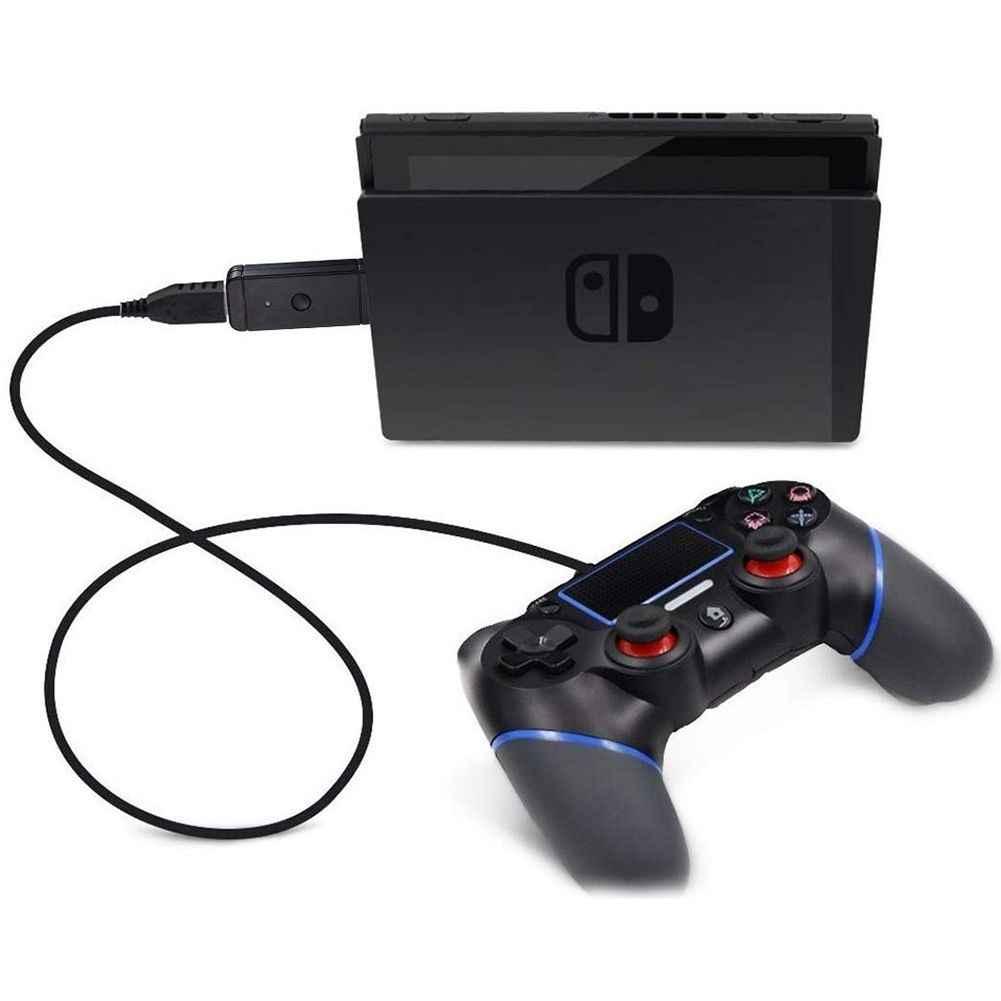 JYS беспроводной контроллер адаптер-конвертер позволяет использовать PS/PS4/контроллеры для Xbox с Nin переключатель или ПК