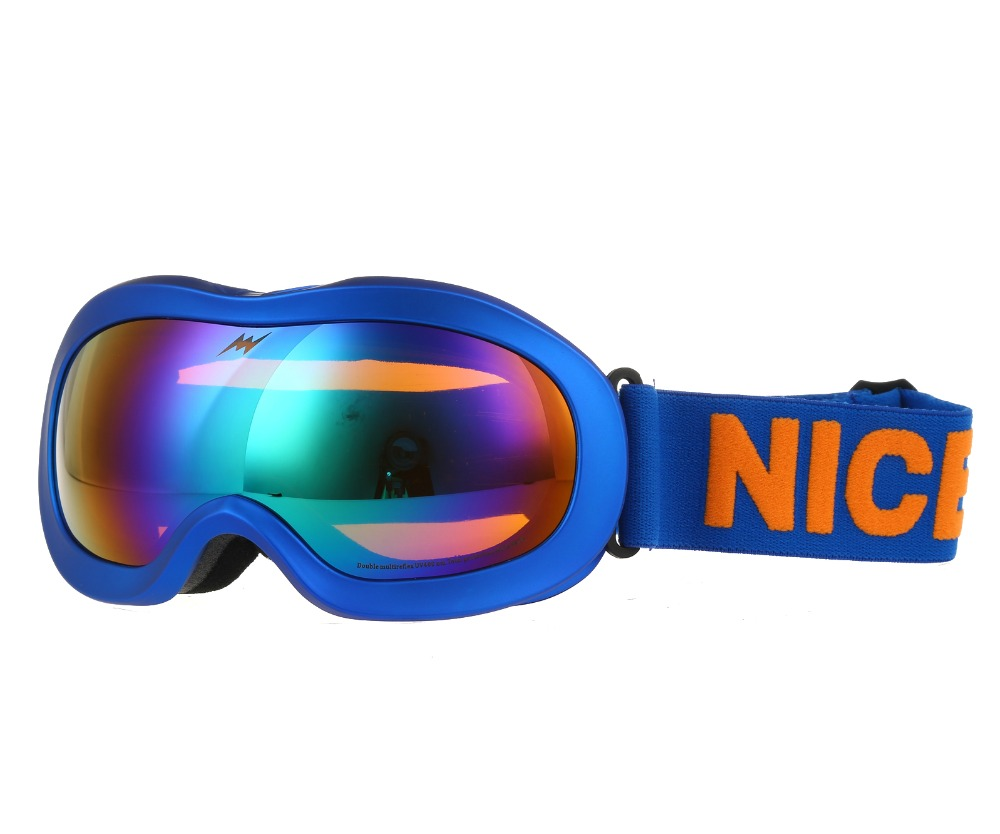 3c0269512579 Brands Ski Goggles Boys Girls Kids Eyewear Double Lens UV400 Anti fog Mask  Children Snow Winter Skiing And Snowboarding Glasses-in Skiing Eyewear from  ...