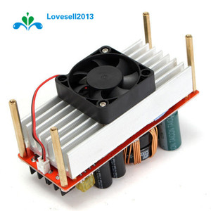 Image 3 - 1500W 30A DC Boost Converter Step up Power Supply Module In10~60V Out 12~90V S