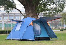 2016 vente Chaude Chameau rapide automatique ouvert pop up 2 couche 3-4 personne randonnée pêche plage trekking en plein air camping bivouac tente