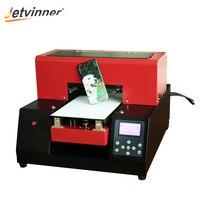 Ультрафиолетовый планшетный принтер светодиодный передовые 6 цветов струйный принтер с эффектом emboss Гольф A4 УФ принтер для чехол для телеф