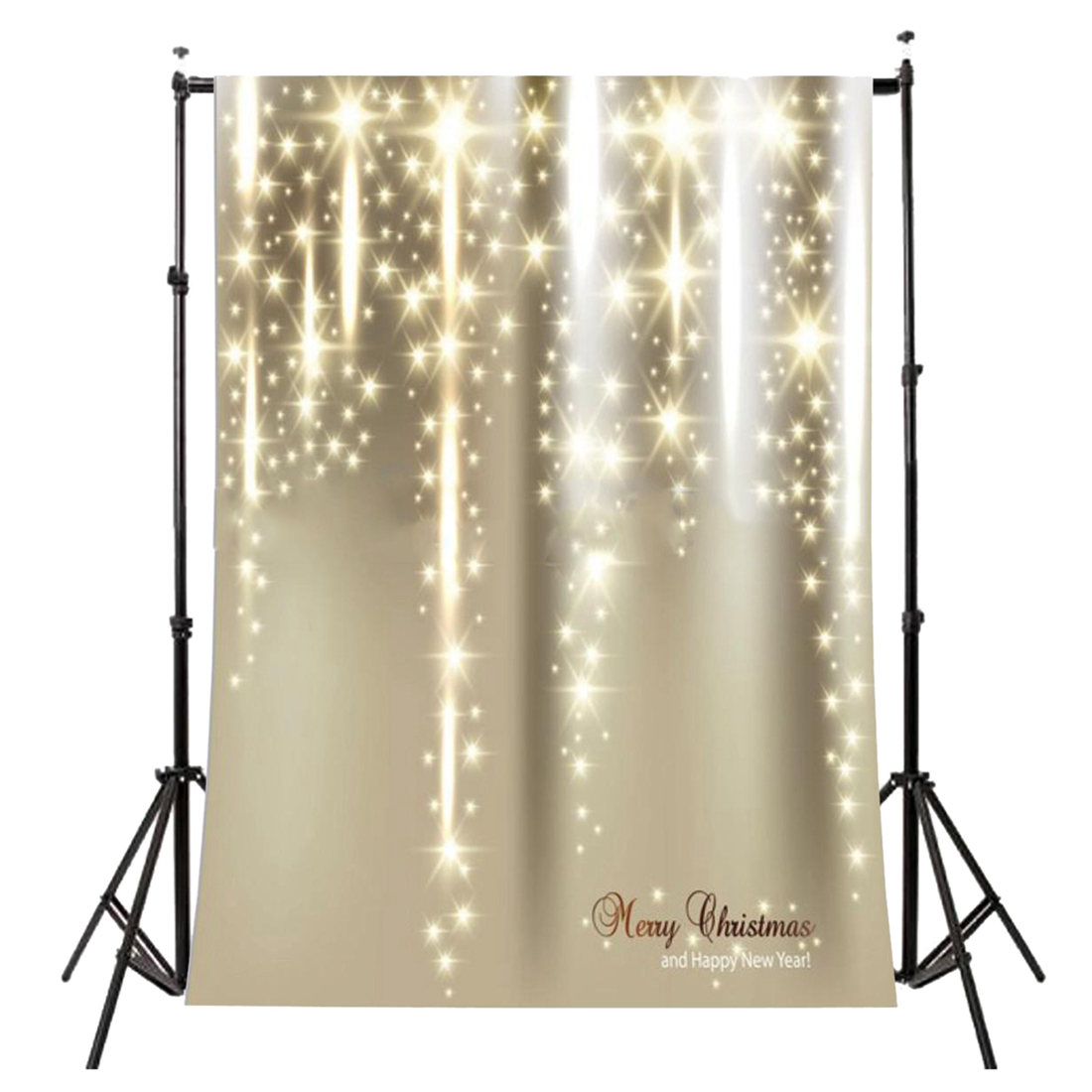 5x7FT Vinyl Photography Backdrop Photo Background, Christmas Starlight