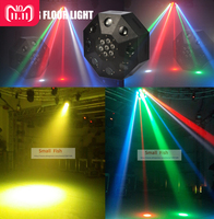 Eyourlife Бесплатная доставка 2019 Новый светодио дный подсветка танцпола 120 Вт RGBW Перемещение Головы сценического освещения DJ DMX дискотека лазер