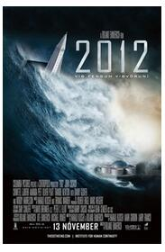The Movie 2012 Art Wall Decor Silk Print Poster image