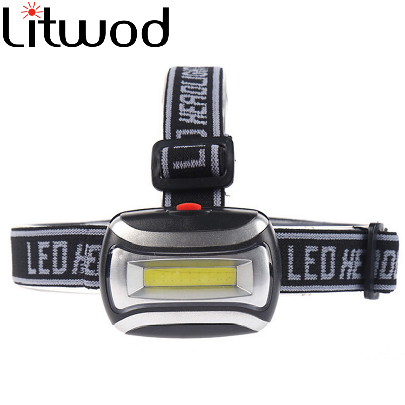 Led Headlamp Head Lamp Headlight Camping Light Litwod Daily Waterproof Cob Lithium Ion ,Walking