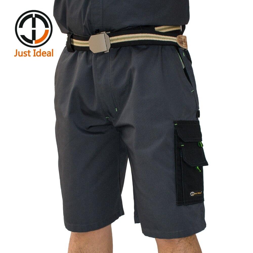 2019 Pánské taktické šortky Casual Loose Short Canvas Krátké letní Bermudy Plus velikost ID619