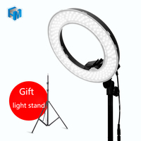 14 45W 5500K Camera Photo Video LED Ring Light With 2 2m Light Stand For Camera