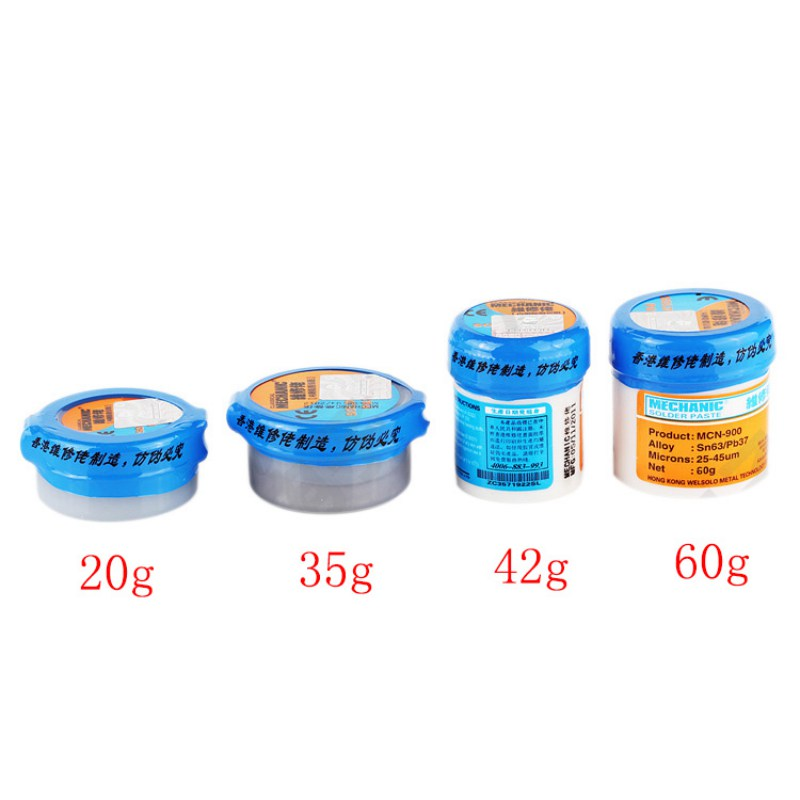 20/42/60g Welding Paste Tin Mud Profession Metal Solder Fluxes Welding Flux Help Welding Tin Mud