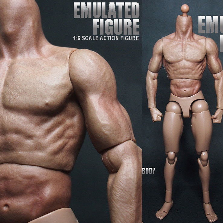 Mnotht Toy 1/6 Scale Half-Glue Muscle Nude Body Action Figure For Iron Man Toni Captain America 3 Head Carved l30