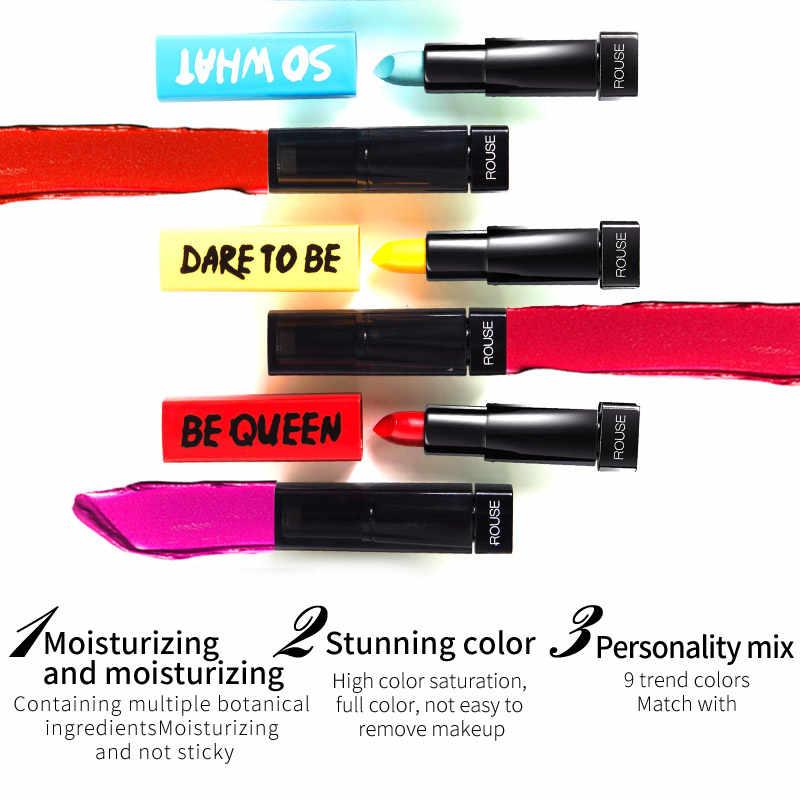 ILISYA 9 couleurs rouge à lèvres imperméable à l'eau longue durée teinte Sexy rouge à lèvres bâton beauté mat rouge à lèvres