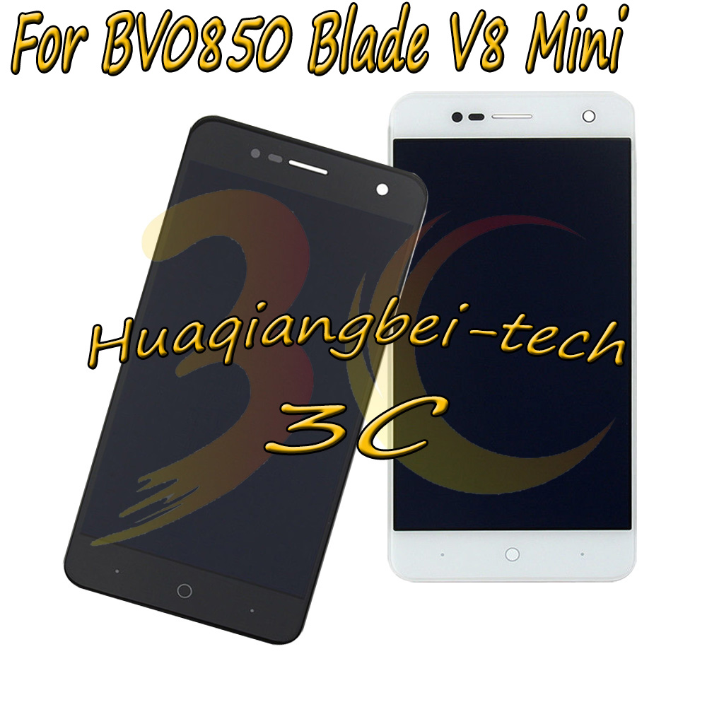 5.0'' New For ZTE BV0850 Blade V8 Mini Full LCD DIsplay + Touch Screen Digitizer Assembly Black 100% Tested