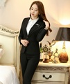 Plus Size 4XL Formal Uniform Design Professional Work Wear Suits With Jackets And Pants Ladies Trousers Set Blazers Outfits