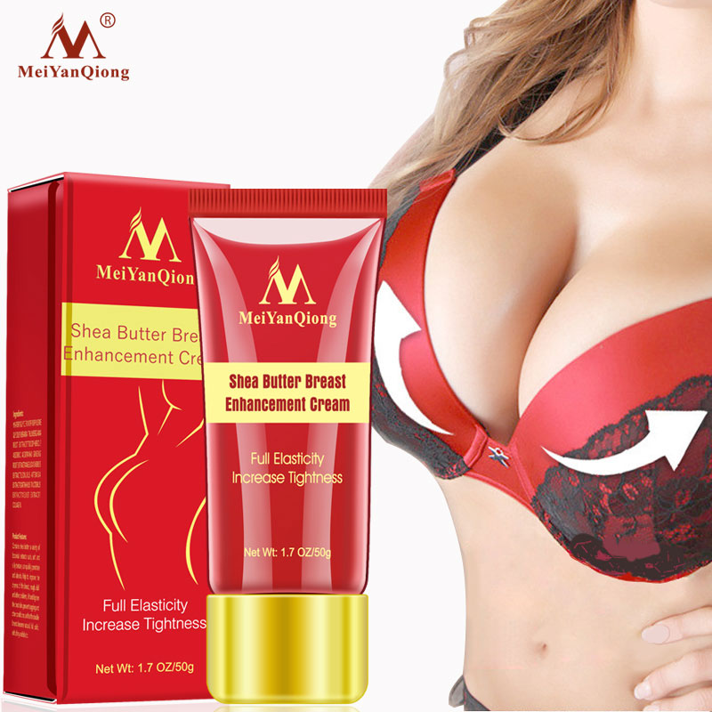 50g Shea chest cream Breast Enlargement Enhancer for Full Elasticity Chest Care Firming Lifting Fast Growth body care