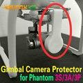 Câmera cardan Protetores de Fixação Suporte Tampa Tampa Da Lente para DJI Fantasma 3 Standard/Avançado/Profissional