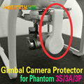 Gimbal Camera Protectors Fixing Support Lens Cap Cover for DJI Phantom 3 Standard/Advanced/Professional