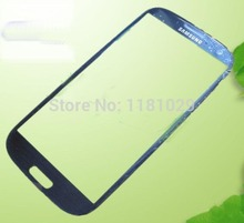 30PCS/Lots Free Shipping S3 Outer Glass for Samsung Galaxy S3 LCD Touch Screen Digitizer Front Glass Lens i9300 Blue Black White