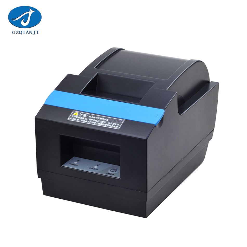 GZ5806 Thermal Printer Bluetooth 58mm Low Noise POS Receipt Bill Thermal Printer with USB Port EU PLUG Bluetooth Thermal Printer