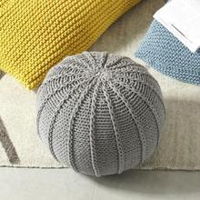 Скандинавский ленивый диван простой мешок бобов ручная тканая шерсть мешок бобов диван спальня креативный один мягкий мешок стул
