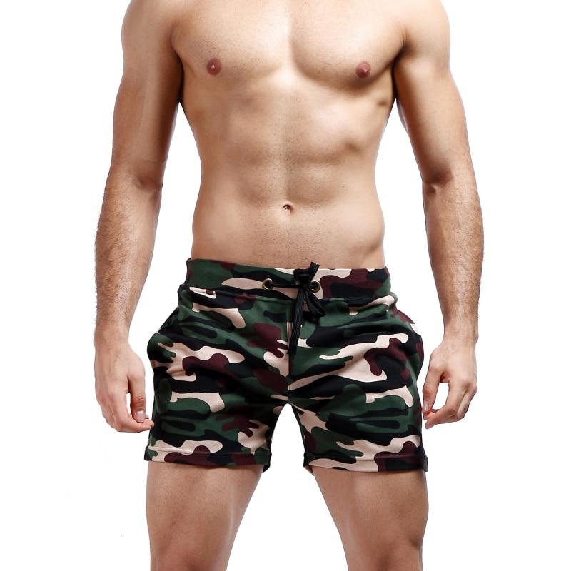 New Men Jogger Sweatpants Casual Boxers Trunks Men's Trunks Comfort Homewear Camouflage Shorts