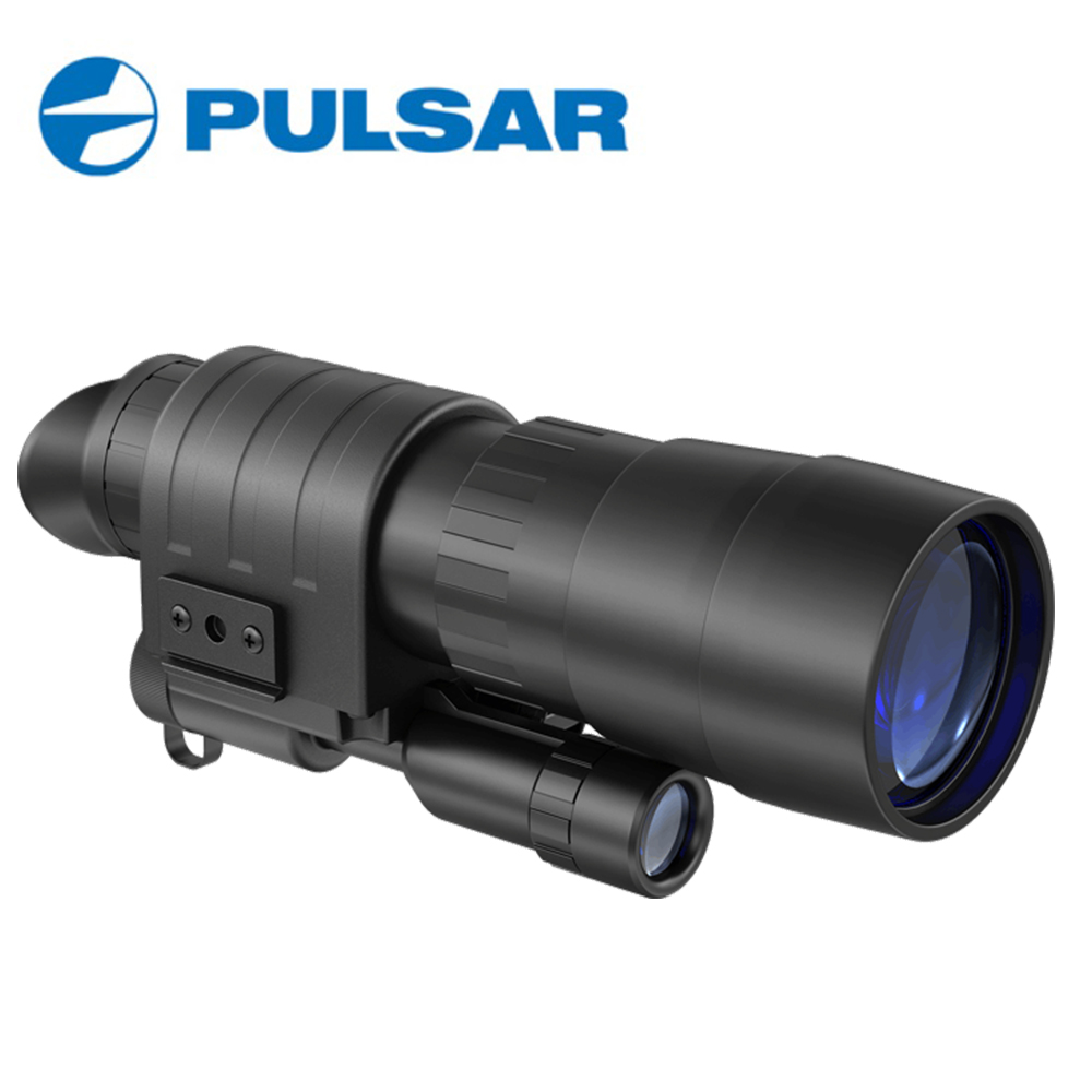 Pulsar Challenger GS Monoculars Nightvision Scope 2.7x50 Hunting Optics Night Visions #74096 DHL or EMS Free Shipping pulsar night vision scope challenger gs 1x20 head mount kit 74095