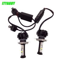 2pcs Lot Car LED Lamps DRL Led Headlight Fog Lamp V18 H4 HL 9004 9007 H13