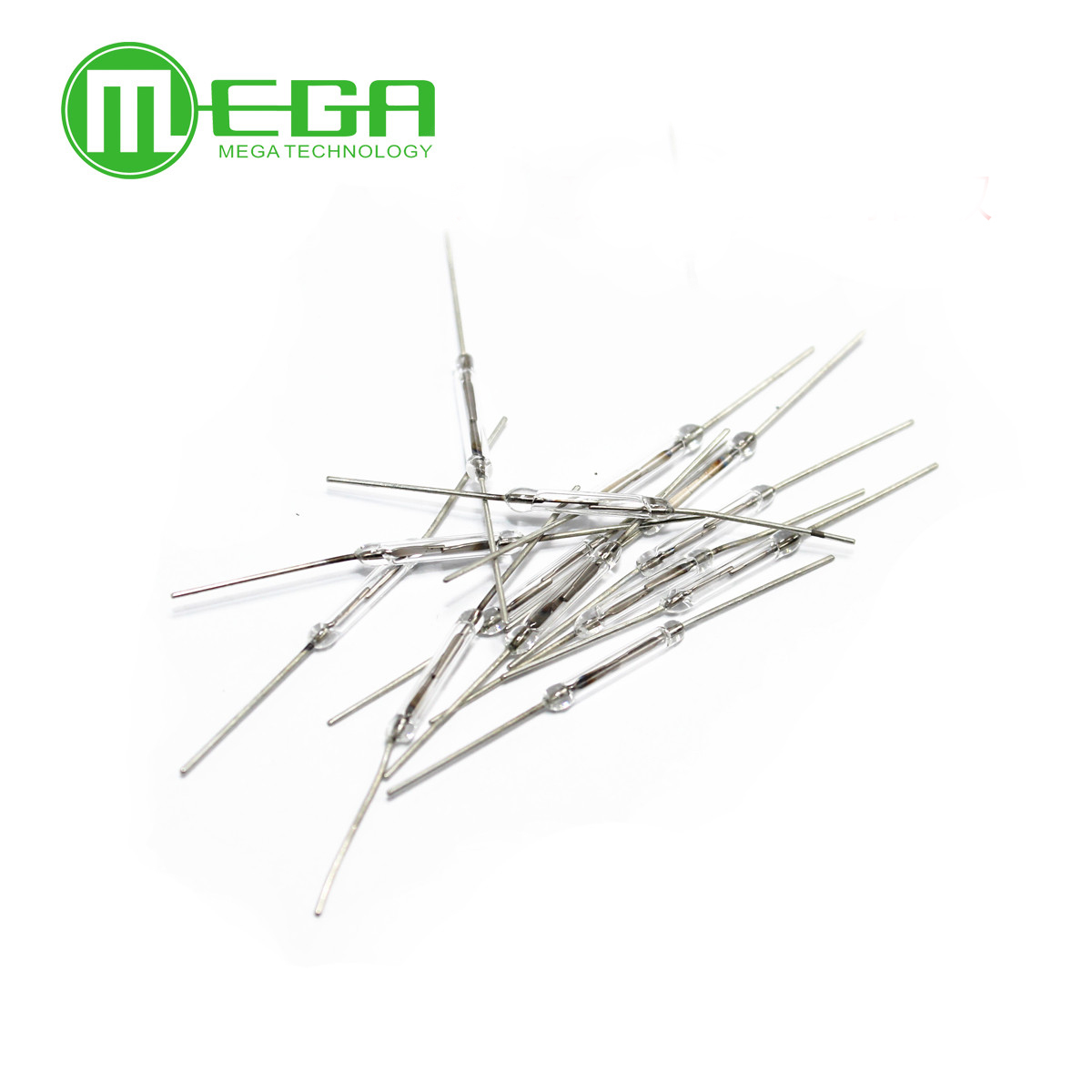 1000pcs lot reed switch 2x14mm 10 15 AT Glass N O Low Voltage Current