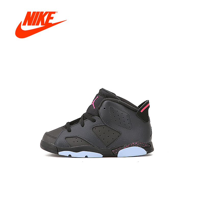 Original New Arrival Official Nike AIR JORDAN 6 HYPERPINK Unisex Sports Shoes