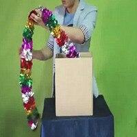 Produzione di cartone gli oggetti da box cassa magica scatola magica trucchi