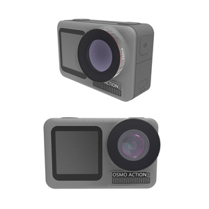 Image 5 - For DJI Osmo Action Camera Lens Filter Polarizing CPL UV ND 4 8 16 32 64 Neutral Density Filters For Osmo Action Accessories