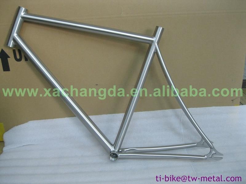 US $1000 0 |Custom Titanium Track Bicycle Frames China Titanium single  speed Bike Frame Super Light Titanium fixed gear Bicycle Frames-in Bicycle
