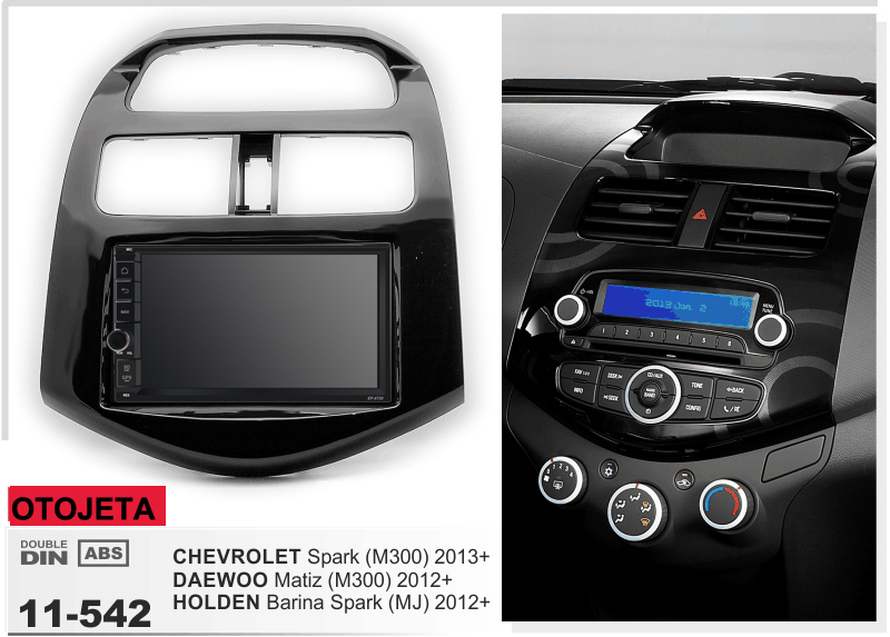 Autoradio avec cadre Android 9.1 Autoradio GPS lecteur pour CHEVROLET Spark DAEWOO Matiz HOLDEN Barina étincelle enregistreur multimédia