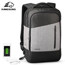 Kingsons טלפון מציצת יומית מקרית Daypacks נסיעות תרמיל חליפת עבור איש עסקים נער תלמיד