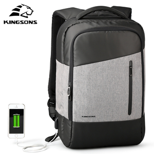 Image 1 - Kingsons Phone Sucking Backpacks Daily Casual Daypacks Travel Backpack Suit For Teenager Business man Student