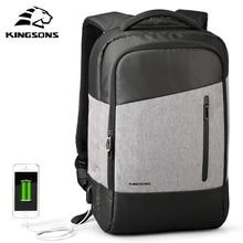Kingsons telefon Sucking sırt çantaları günlük rahat Daypacks seyahat sırt çantası takım elbise genç iş adam öğrenci