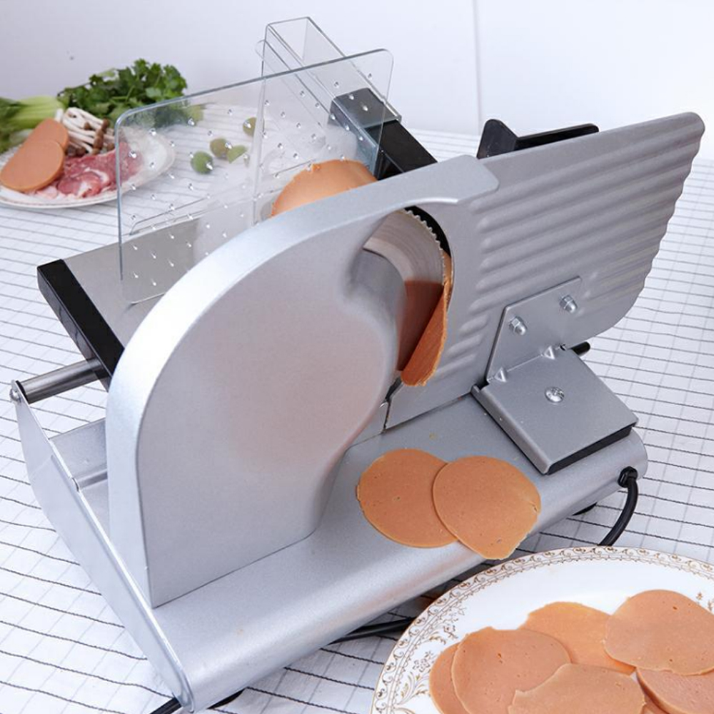 ITOP Electric Meat Slicers Automatic Pork Mutton Cutter Potato Carrot Lamb Cutting Machine Stainless Steel Kitchen Tool